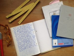 Hausumbau Tagebuch 1. Heft Baurausch Richtfest